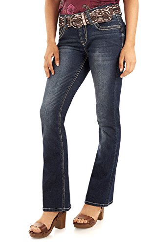 Belted Bootcut Jeans - 9