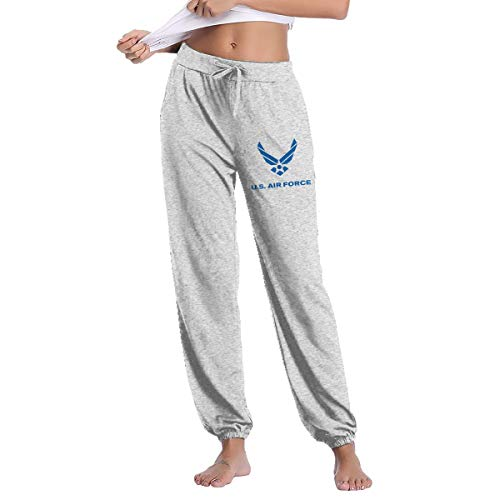 NEST-Homer US Air Force Logo Women's Casual Sweatpants Fitness Training Jogger Pant