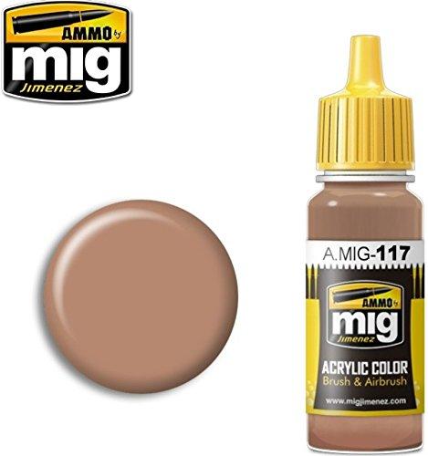 Ammo of Mig Jimenez Acrylic Color Brushes & Airbrush Warm Skin Tone 17ml - Tone Colours Warm Skin