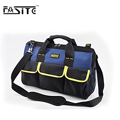 FASITE Tool Bags Organizer Carrier for Electricians Carpenters14in,16in,20in