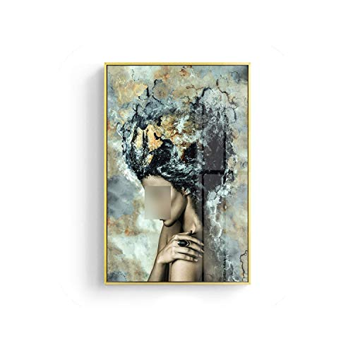 Best Roman Friend Vertical Picture Frames - Modern Marble Girl Posters and Prints