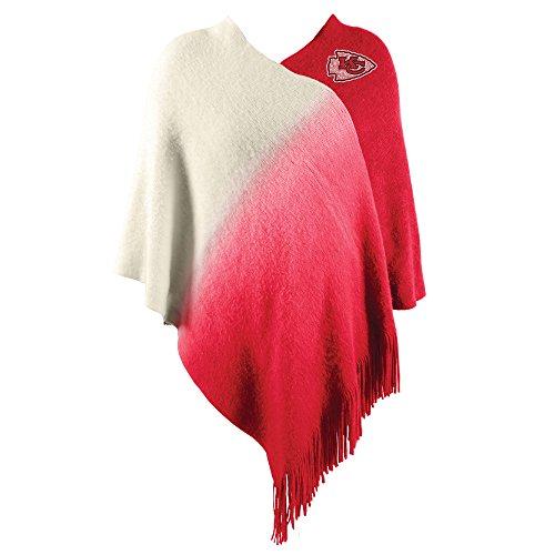 Littlearth NFL Kansas City Chiefs Dip Dye Poncho