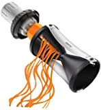 Spiralizer- Vegetable Spiral Slicer with Attachable Finger Guard- Spirelli 2.0 by GEFU