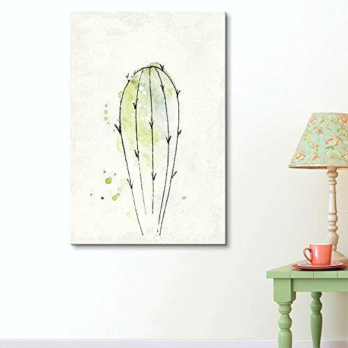 Watercolor Style Desert Plant