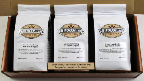 Willoughby's House Blend 3 Pack/12 Ounces - Ground made in New England