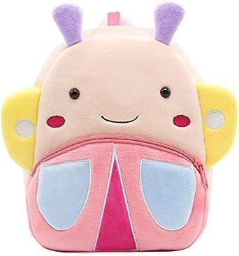 cartoon 3-6 year old boy girl cute animal plush backpack toddler mini school bag Cute toddler zoo animal backpack