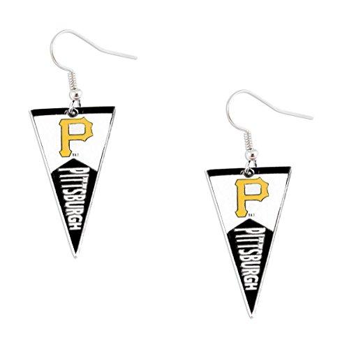 MLB Pittsburgh Pirates Pennant Earrings