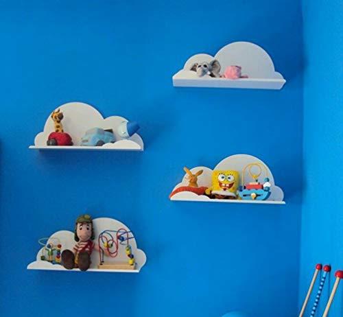 INDIAN DECOR. Wall Shelf   Cloud Shaped    Pack of 4
