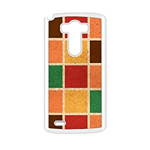 Colorful Grid Fashion Personalized Phone Case For LG G3 by runtopwellby Maris's Diary