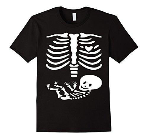 Mens Halloween Pregnancy Announcement Shirt - Pregnancy Costume 2XL Black