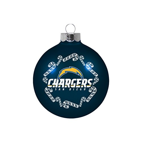 NFL San Diego Chargers Small Ball Ornament ()