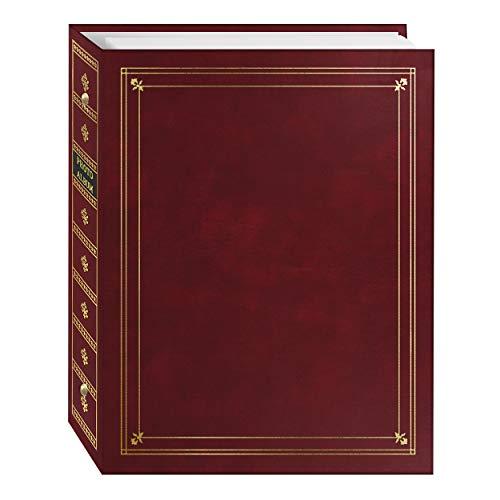 Pioneer APS 3-Ring Bi-Directional Le Memo Album, Burgundy Bi Directional Le Memo Album