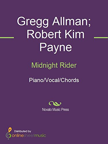 Midnight Rider - Kindle edition by Gregg Allman, Robert Kim Payne ...