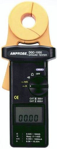 - Amprobe DGC-1000A Clamp Ground Resistance Tester