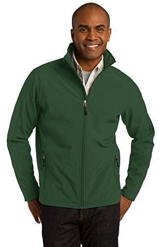 Port Authority Core Soft Shell Jacket - J317 (Forest Green, S)