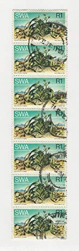 South West Africa Postage Stamp, 358 Strip of 7 Used, 1973, DKZ