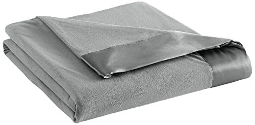 Shavel Home Products All Seasons Year Round Sheet Blanket, King, Greystone
