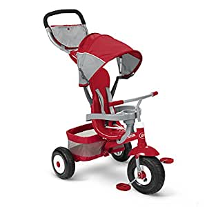 Amazon Com Radio Flyer Deluxe All Terrain Stroll N Trike