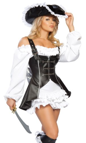 Roma Women's 4Pc. Pirate Maiden Costume, Medium / Large]()