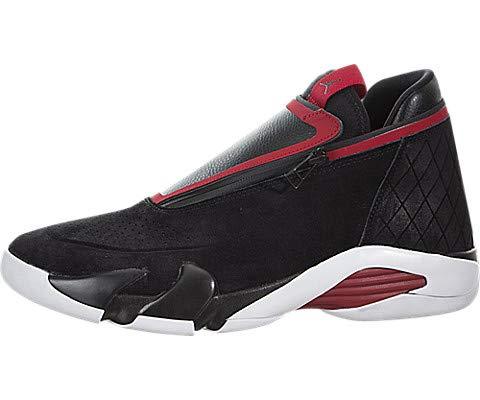 Jordan Nike Men's Jumpman Z Black/Gym Red/White Basketball Shoe 10.5 Men US