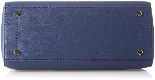 Trussardi Jeans Ischia, Borsa Tote Donna, 38x28x17 cm (W x H x L) Blu (Blue Green)