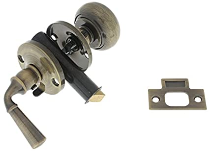 idh by St. Simons 21250-005 Premium Quality Solid Brass Storm Screen Door  Latch - Idh By St. Simons 21250-005 Premium Quality Solid Brass Storm Screen