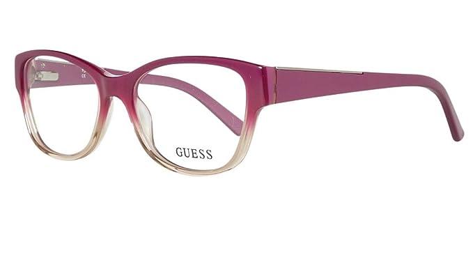 Amazon.com: Guess anteojos GU 2383 Pur acetato de plástico ...