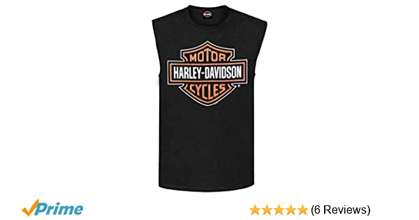 Harley-Davidson Men/'s Bar /& Shield Logo Muscle Shirt Tank Top Black 30296623