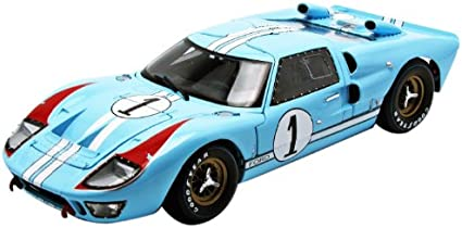 1:18 1966 Shelby Ford GT-40 MK II #1 Le Mans Racing Car Diecast Model Collection