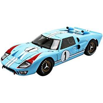 1966 ford gt 40 mk 2 blue 1 118 by shelby collectibles