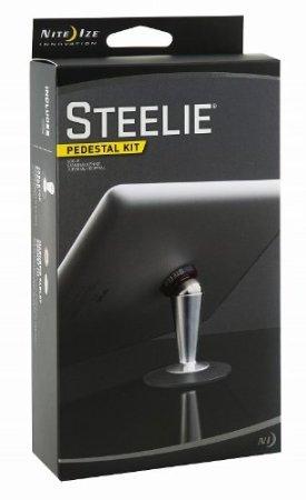 Issmor - Nite Ize STTK-11-R8 Steelie Pedestal Kit for Cellphones - Retail Packaging