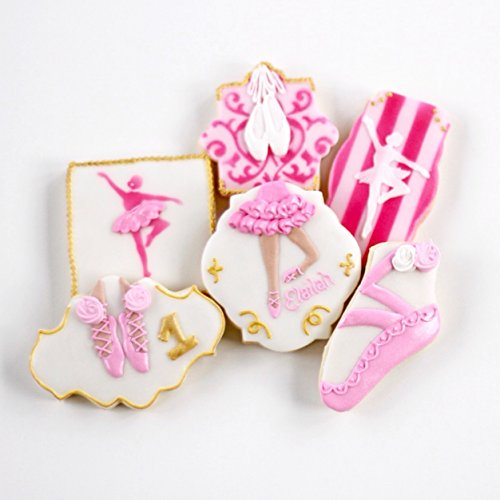 ½ Dz. Prima Ballerina Cookies! The Poise of a Prima Ballerina is unmatched! Ballet Birthday, Themed Shower Party Favors or Gift!