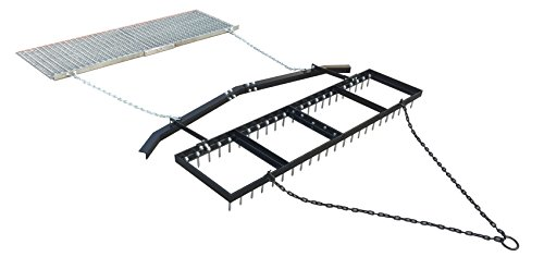 Yard Tuff YTF-618SDLBDM 6' Spike Drag with Leveling Bar and Drag Mat