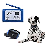 PETSO Wireless Dog Fence System for Dogs, Electric Pet Containment System for Dog and Pets with Waterproof and Rechargeable Training Collar Receiver for 1 Dogs Boundary Container