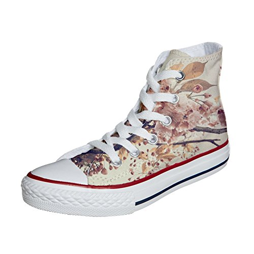 Converse All Star zapatos personalizadas Unisex (Producto Customized) Autumn Texture