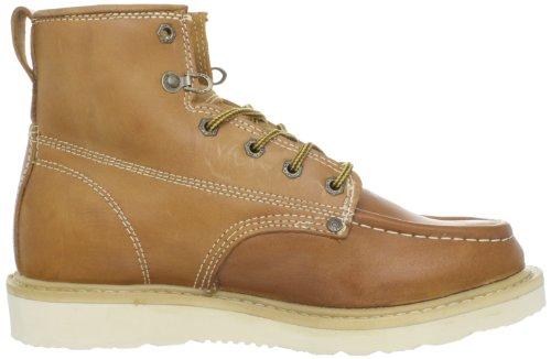 Dickies Mens Commerçant 6 Chaussure En Cuir Bagage Tan