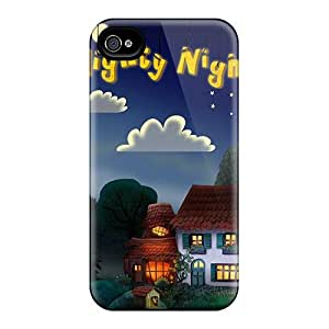 Durable Protector Cases Covers With Good Night House Hd Hot Design For Case Iphone 5/5S Cover
