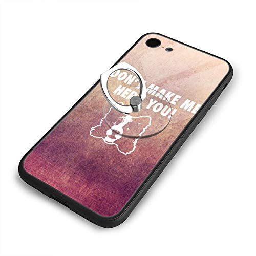 C-CASE Fashion Agility Border Collie Holographic Retro Minimalist Luxury Durable Waterproof TPU Inner Shockproof Glass iPhone Case (iPhone 7/8 Case)