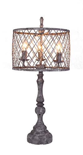 AHS Lighting L2391GY-UP1 Nyack Table Lamp