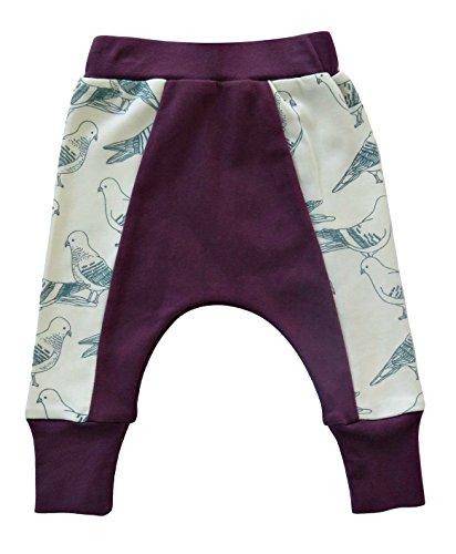 Cat & Dogma - Certified Organic Baby Pants - Birds (0-3 Months)
