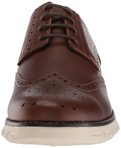 Mens Nautica Wingdeck Oxford Marrone Liscia