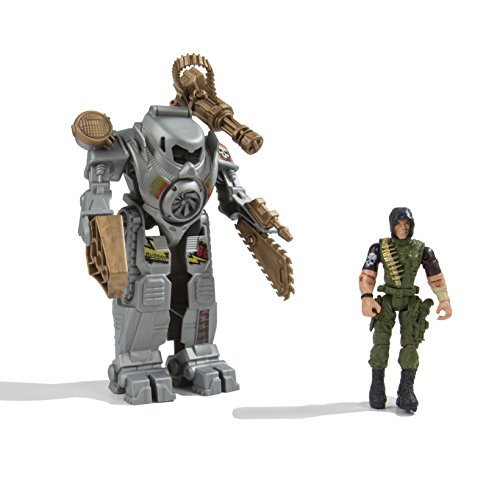 US Toy The Corps! Exo Battle Suit – Assorted Set of 1 Suit and 1 Figure by US Toy Company