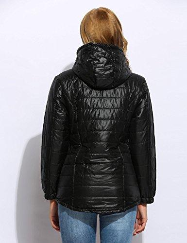 Mujer Pagacat Abrigo Pagacat Para Mujer Abrigo Negro Negro Para Pagacat Abrigo zHzqwUWC