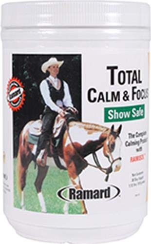 Ramard 079039 Total Calm & Focus Show Safe Supplement for Horses, 1.12 lb/30Day by Ramard