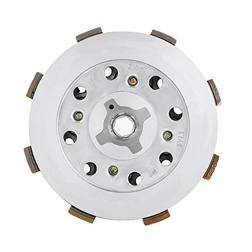 Motorcycle Clutch, Motorcycle Clutch Disc Pressure Plate Assembly for YBR125 YBR 125: