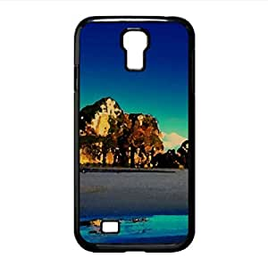 Rocky Beach 33 Watercolor style Cover Samsung Galaxy S4 I9500 Case (Beach Watercolor style Cover Samsung Galaxy S4 I9500 Case)