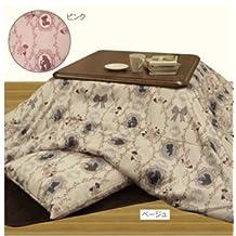 Disney Princess Kotatsu (Japanese foot warmer) futon cover For 75-80cm Pink