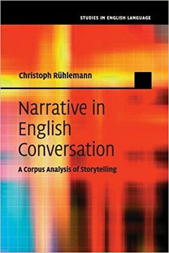 Narrative in English Conversation (Studies in English