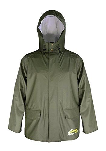 (Viking Norseman Waterproof PU Jacket, Green, 3150J, Large)