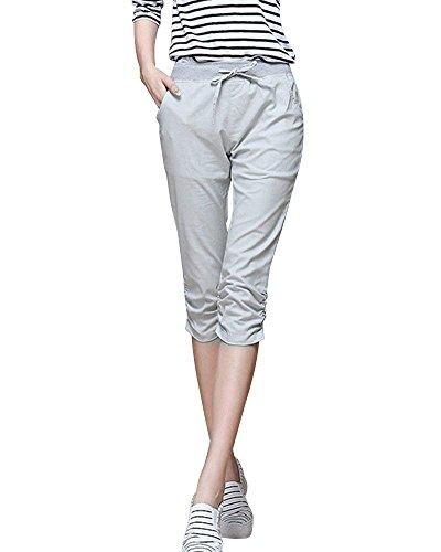 Per Grazioso Grau Pantaloni Giovane Skinny Donna Premaman 4 Women 3 Gravidanza Tempo Solidi Fashion Colori Eleganti Libero Waist Elastico High Estivi q5RxBwdv
